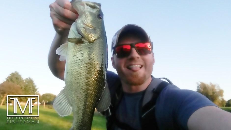 AJ Hauser Two Nice Largemouth Bass on Flukes