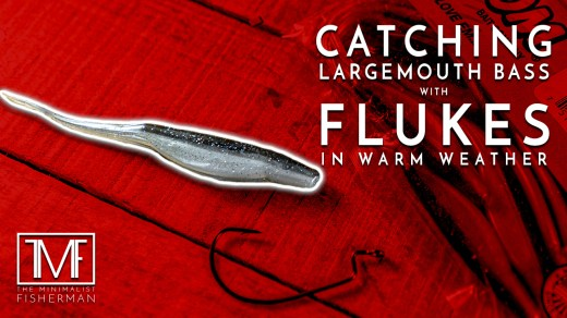 Catching Largemouth Bass with Flukes in Warm Weather