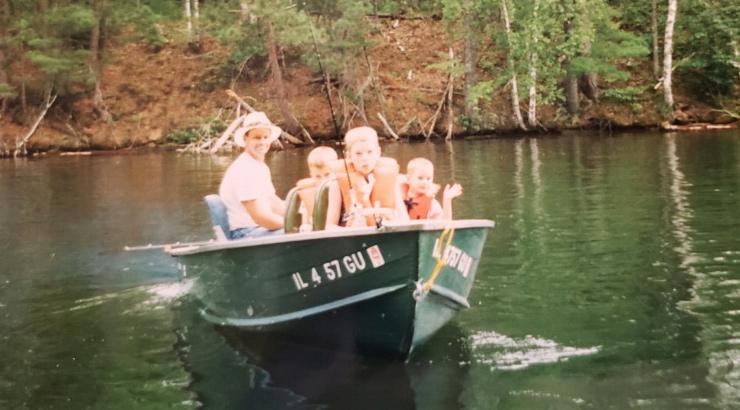 Scott Hauser Aluminum Boat