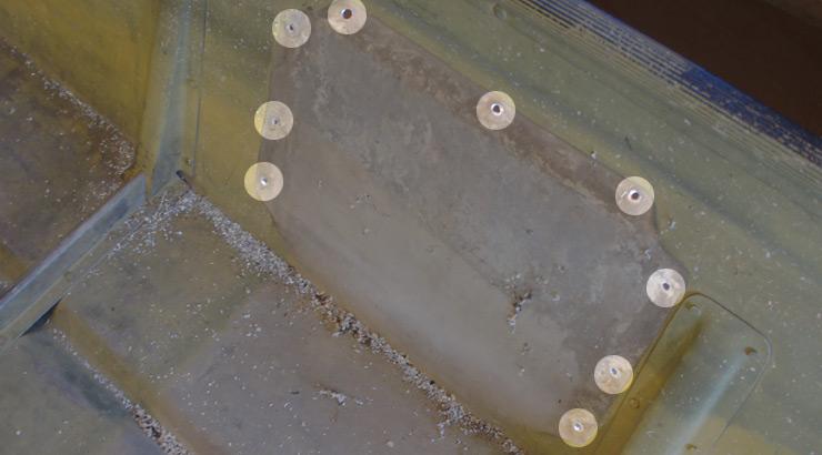 Aluminum Jon Boat Holes to Fill