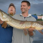 Tiger Muskie in Wisconsin - Vaughn Hauser