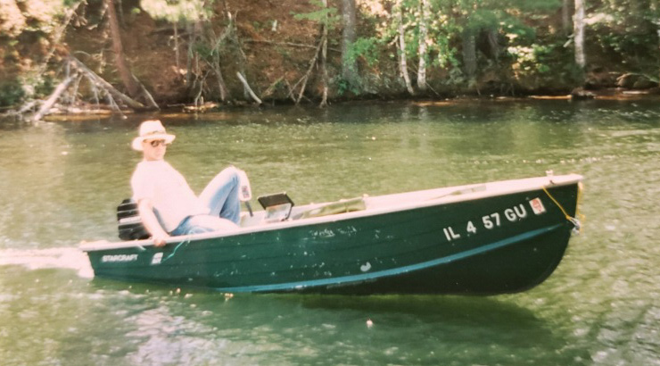 Scott Hauser Sweet Aluminum Boat & Mercury