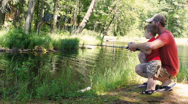 AJ Hauser Fishing With Kids Minimalist