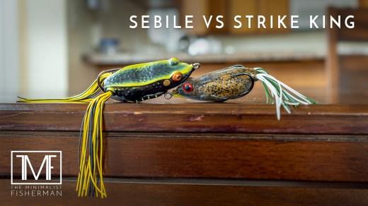Sebile Pivot Frog Strike King KVD Sexy Frog