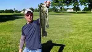 AJ Hauser 3.5lb Largemouth Bass