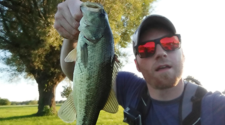 The First Fish - A Beat Up Little 1lb Dude