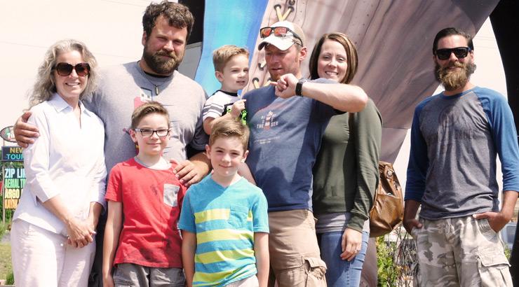 The Minimalist Fishing Family