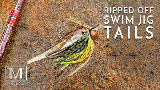 Ripped Off Swim Jig Tails