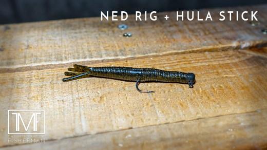 Ned Rig Hula Stick Minimalist Fishing