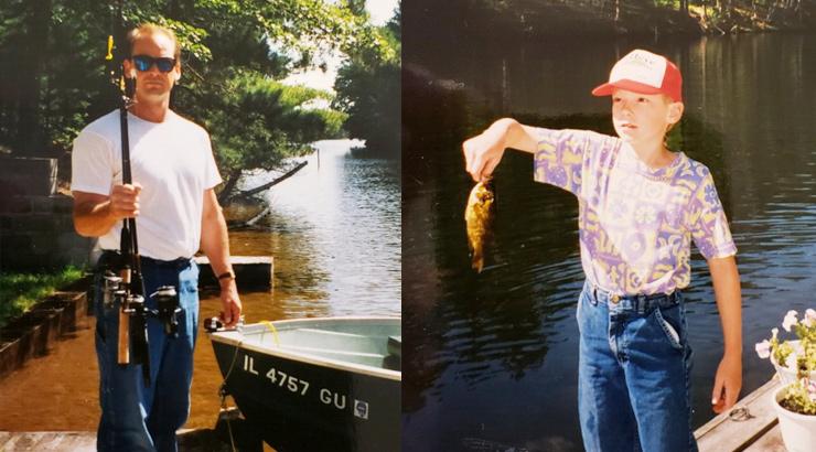 Scott Hauser & AJ Hauser Fishing