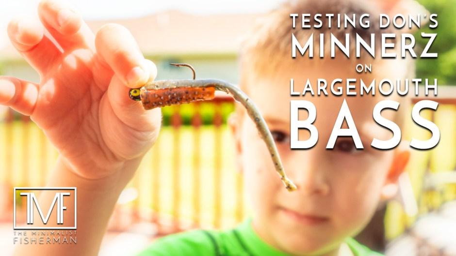 Testing Don's MinnerZ on Largemouth Bass