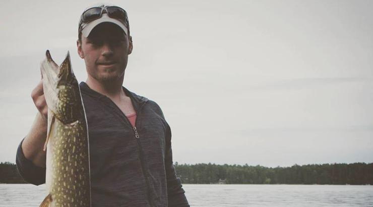 AJ Hauser Jon Boat Northern Pike