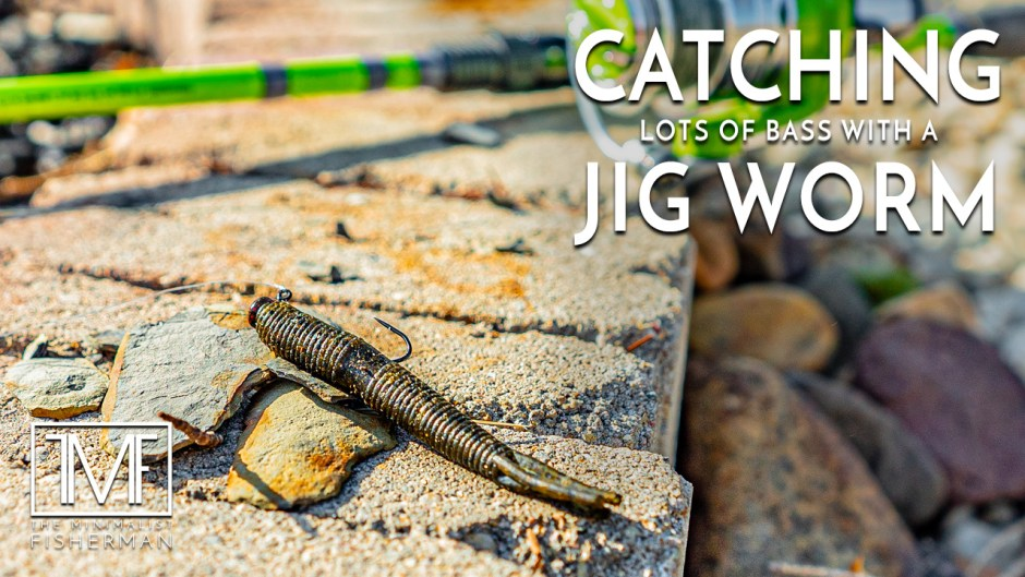 Catching Lots of Bass with a Jig Worm