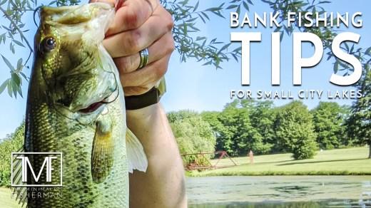 Bank Fishing Tips for Small City Lakes
