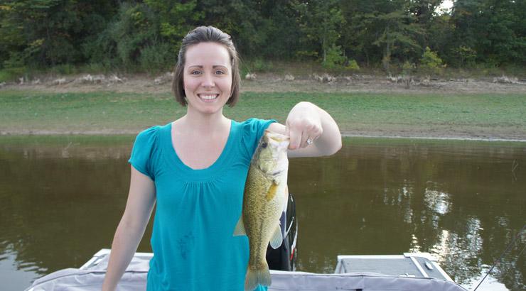 Lake Shelbyville Largemouth Bass Fishing