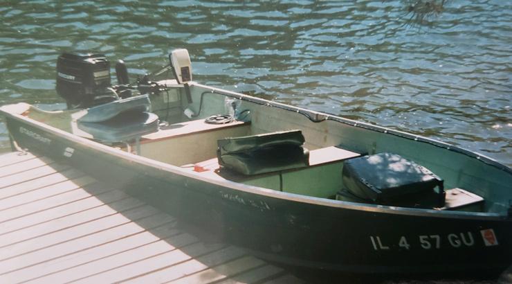 AJ Hauser Fishing Aluminum Boat Jon Boat Project