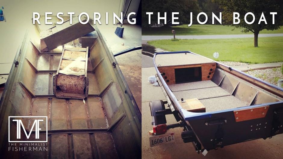 Restoring The Old Jon Boat