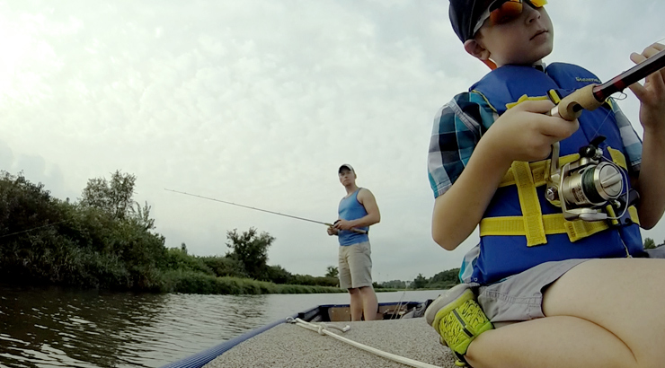 Fishing a Small Lake with No Shoreline Access