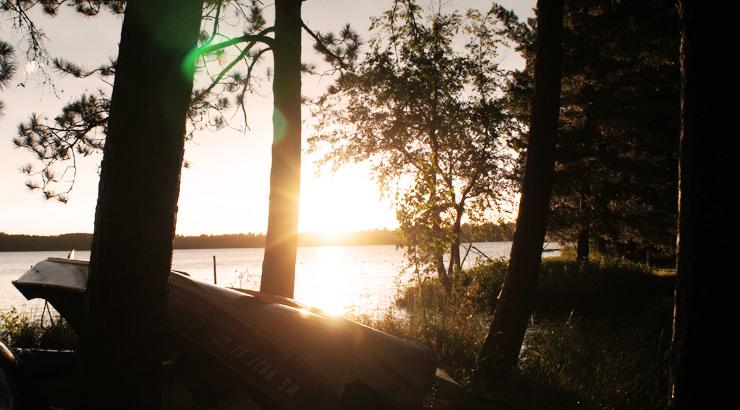 The Minimalist Fisherman Lake View