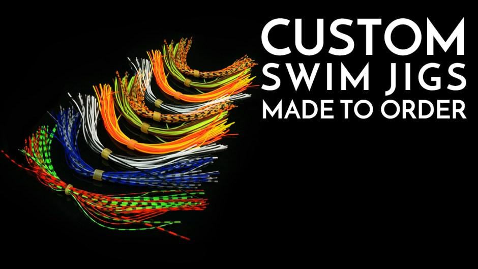 Custom Swim Jigs Made to Order