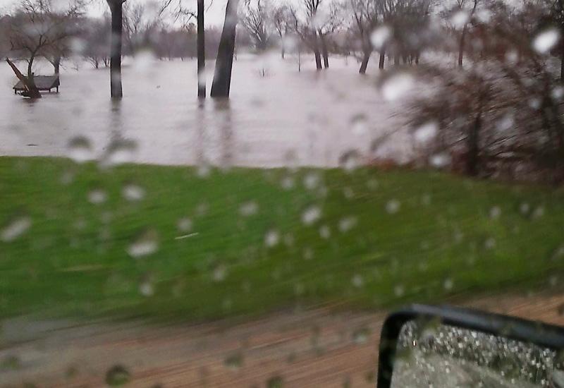 Flooded Stream in Illinois