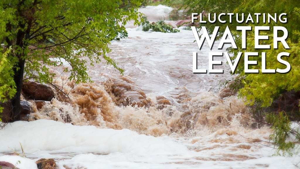 Fluctuating Water Levels in Rivers & Streams
