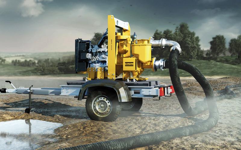 High Capacity Dewatering Pump