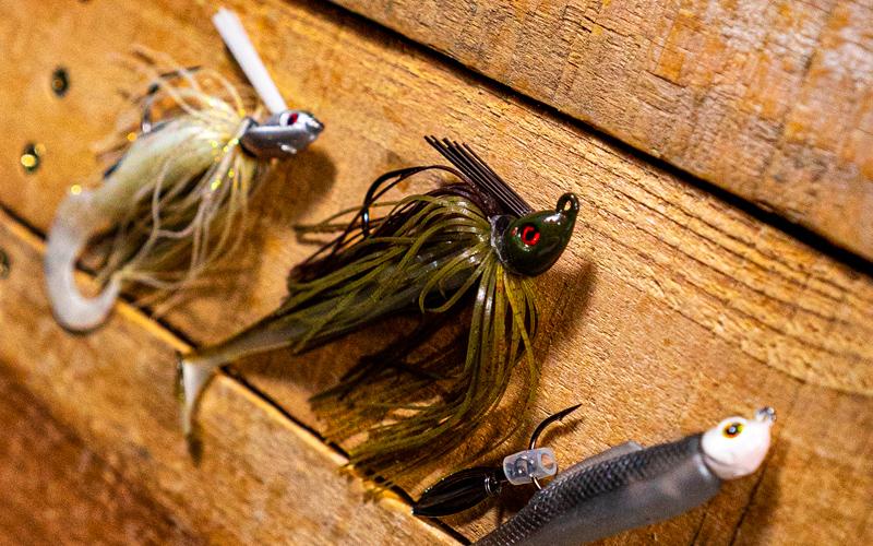 Spring Swim Jigs All-Terrain Strike King and Dobyn's