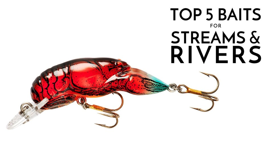 Top 5 Baits for Rivers & Streams