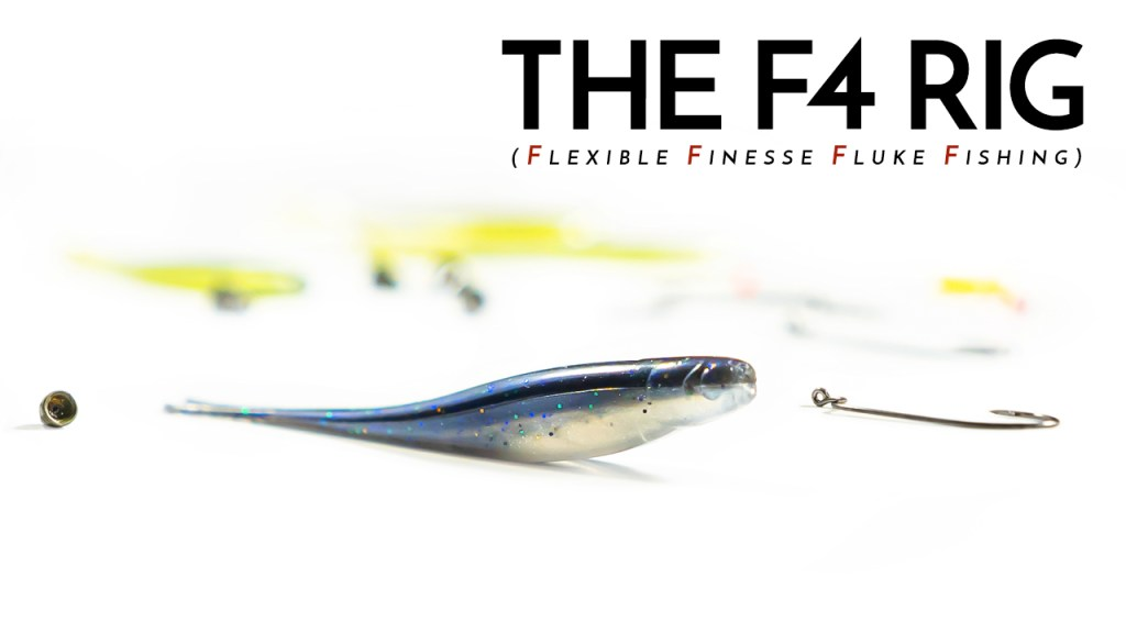 The F4 Rig Created by AJ Hauser: Flexible Finesse Fluke Fishing