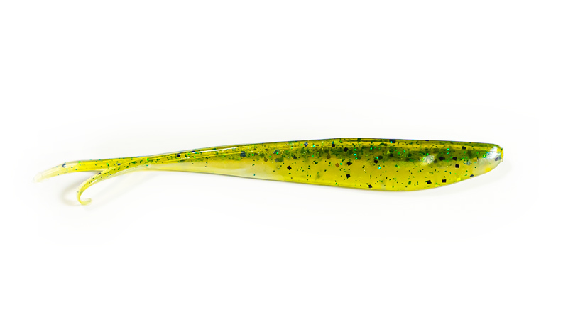 The F4 Rig Created by AJ Hauser: Flexible Finesse Fluke Fishing - The Fluke by Zoom in Baby Bass