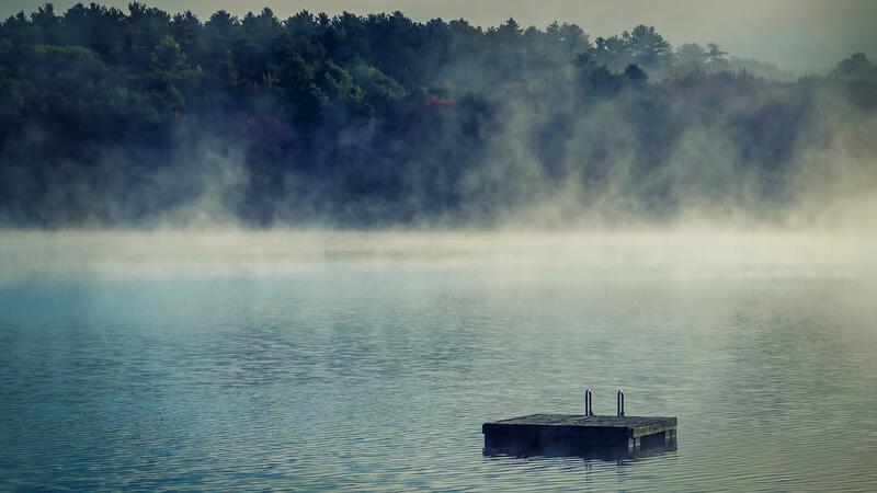 Cold Water Morning Lake