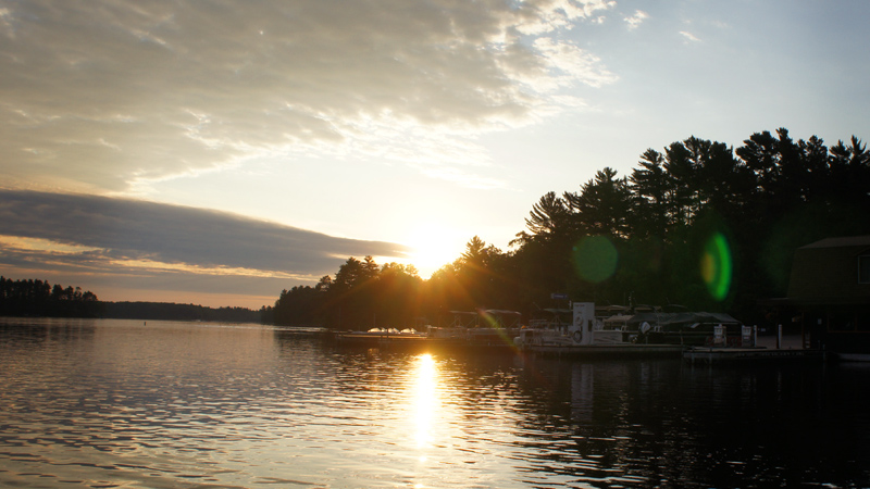 Early Morning: Stone Lake Wisconsin (WI)