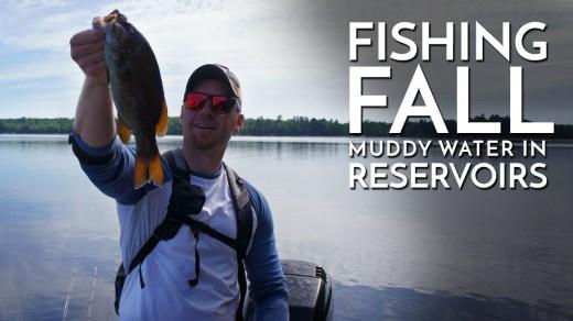 Fishing Fall Muddy Water Reservoirs