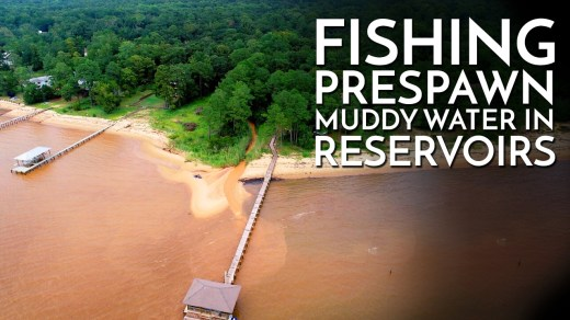 Fishing Prespawn Muddy Water in Reservoirs