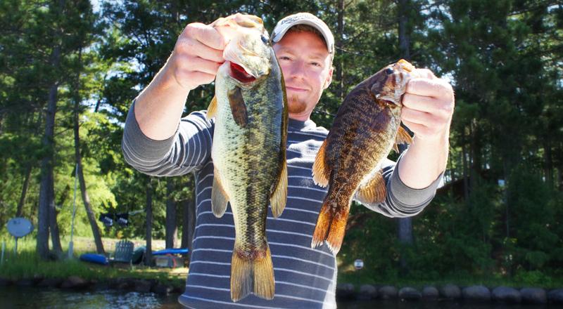 Multi-Species Fishing Activity Largemouth Smallmouth Bass