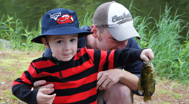 Always Make Time to Fish With Kids Rockbass Rock Bass