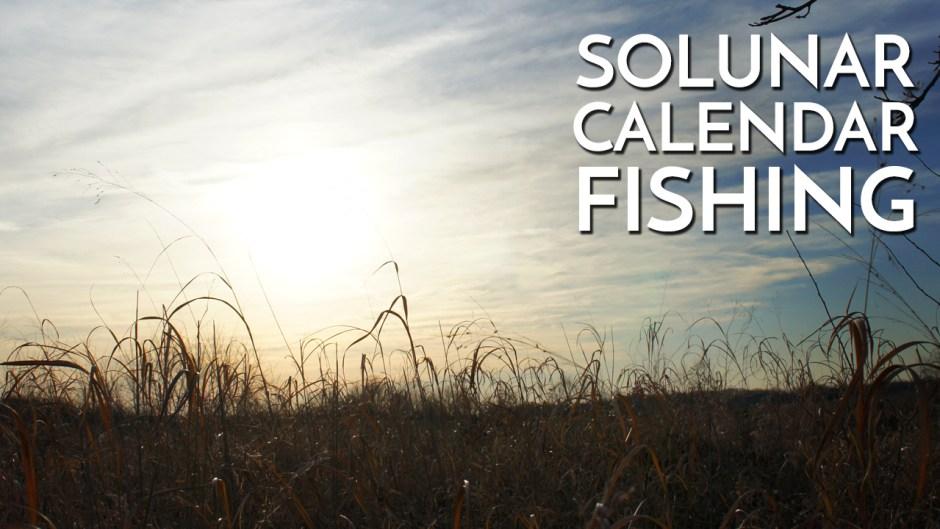 solunar calendar fishing explanation