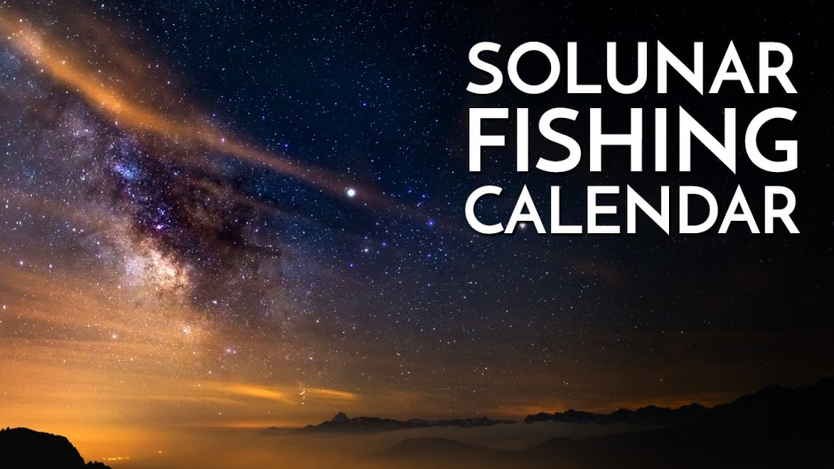 Solunar Calendar Fishing - Learn to Use Solunar Calendar