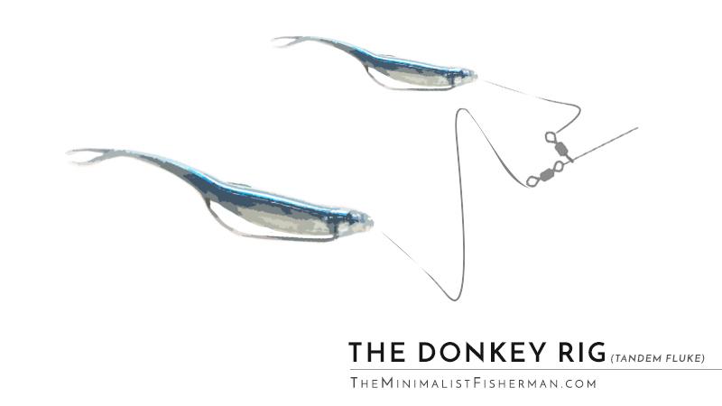 Tandem Fluke Donkey Rig Double Fluke Rig