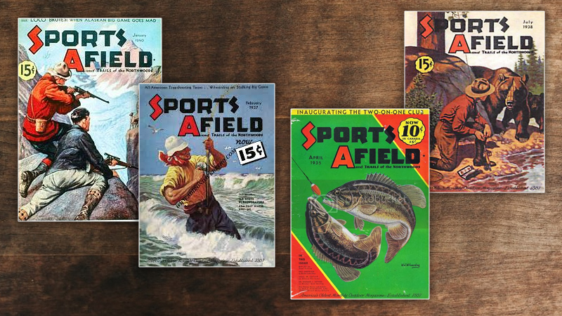 Vintage Sports Afield Covers