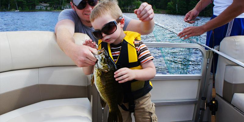 Alder Lake Wisconsin Smallmouth Bass on a Husky Jerk