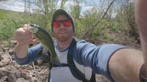 Cabin Creek Salty Sinkin Worm Bass