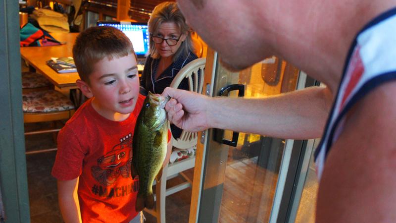 Alder Lake Wisconsin Largemouth Bass
