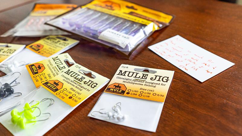 Mule Jigs & Donkey Tails