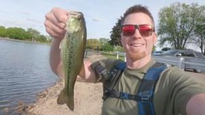 Suburban Hula Stick Largemouth Bass