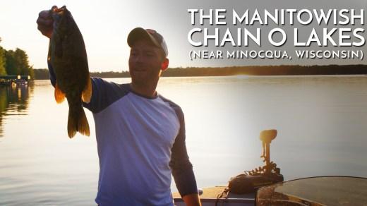 The Manitowish Chain O Lakes near Minocqua, Wisconsin