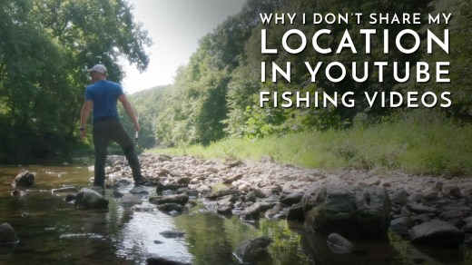 Creek Fishing in Illinois: Why I Don't Share my Location on YouTube