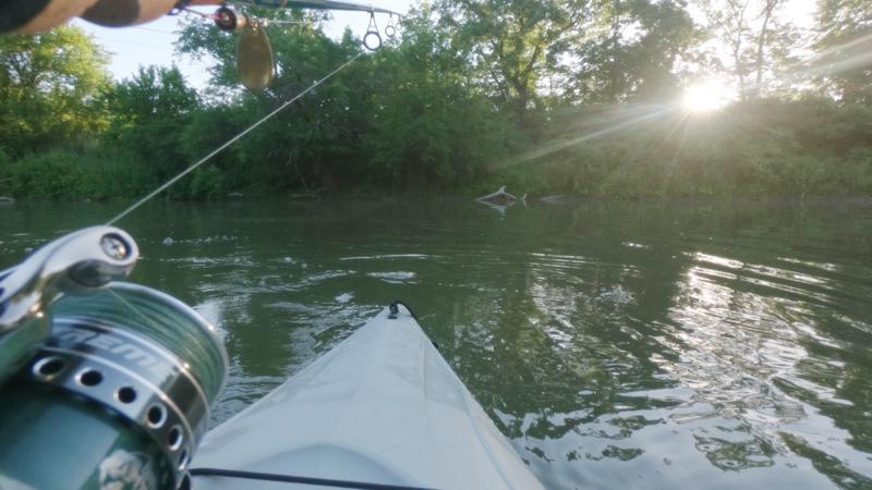 Creek Fishing in Illinois: Kayak and Smallmouth Bass