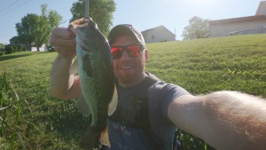 mcphedran suburban lake fishing ocho largemouth bass